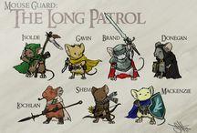 Illustrations - Mouse Guard (David Petersen)