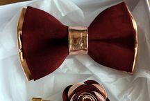 Burgund i złoto - kolor przewodni