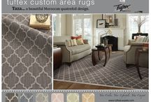 Area rugs and Stair runners