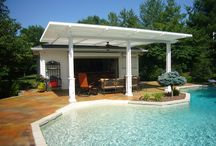 Louvered Roofs / Opening and closing louvered roofs