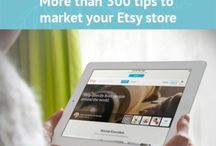 ETSY and PINITEREST AND EBAY / by Jacky Christian