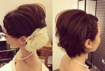 Bridal Hair Short