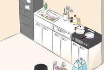 台所 収納