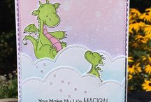 Cards Monsters/Dragons/Unicorns
