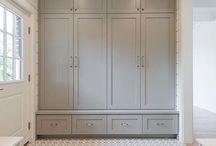 Cragmont - Entryway cabinets