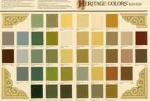 Paint Colors past and present