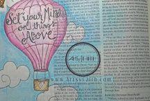 ▶ bible journaling