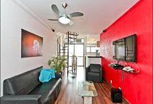 Penthouse in Copacabana, 2 bedrooms, 4 sleeps / http://www.2016rioproperties.com/rent-copacabana-2-bedrooms-penthouse-7