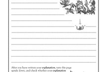 Explanation Writing resources