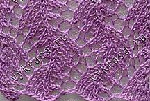 pletené krajkové