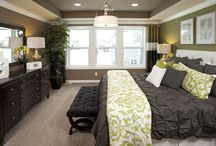Master bedroom ideas / by Bekah