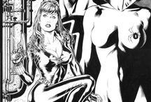 Inkwork and Pencils / Beautiful black and white comicbook inking and penciling.