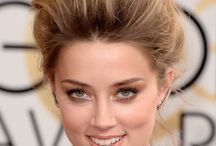 2014 Golden Globes Hair Trends / 2014 Golden Globe Hair featured some definite trends: from ear-grazing wavy bobs to sleek hair and deep side parts -- not to mention some big, sexy messy looks! Here are our favorites.