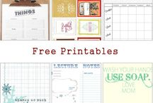 Printables and downloads / by Lisa Davis
