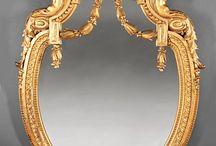 Зеркала в  гнутой раме