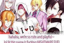 Otome games :D