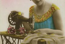 Seamstresses, Tailors, sewing