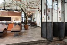 Public Spaces - Interiors / Collection of interiors of public spaces - cafe, restaurants, saloons, shops, schools etc