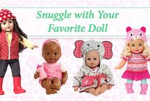 Dolls Galore! / Educational dolls for dramatic play and more! Girls will love these adorable selections. #BabyDolls #edtoys  / by Kaplan Toys