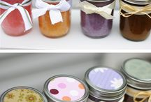 Sugar scrubs / Homemade / by Michelle Christopher