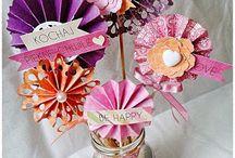Dekoracje, Home Decor / Ręcznie wykonane przedmioty stanowiące dekorację dla domu, wykonane z materiałów marki Papelia oraz innych produktów dostępnych w sklepie Craft Style