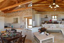Greek Kitchen / Fall in love with our luxury greek villas and the decoration of those kitchens...