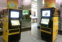 Interactive Touch Vending Kiosk / Interactive Touch Vending Kiosk, Interactive kiosk, vending kiosk,