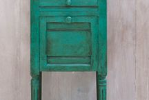 Chalk Paint Effects / Chalk Painted Furniture