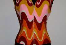 Vintage / Capi e accessori modificati o realizzati con tessuti, capi e componenti vintage