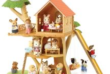 Sylvanian / The Sylvanian family in De Kinderfeestwinkel @ Amsterdam