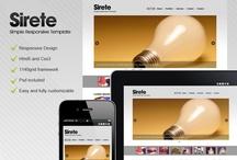 Website Templates / Best web site templates / by Joseph musolino