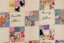 Signature quilts / Signed and documented quilts