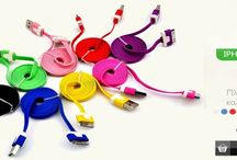 30Pin Lightning Noodle Colored Cables / Νέα μοναδικά πλακέ καλώδια για Apple iPhone σε 10 μοντέρνα χρώματα  http://ecase.gr/apple-proionta/kalwdia-syndesis-iphone-ipod-and-ipad.html
