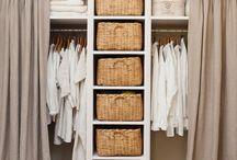 • closets •
