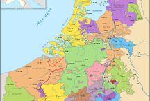Historische kaarten Holland