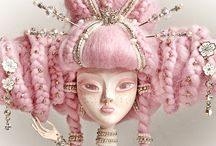 Dolls: Beautiful Dolls / by Grim Cauldron Craft Oddities