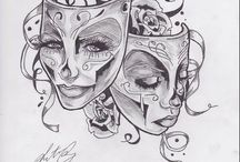 Maski tattoo