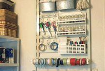 Craftroom ideas and storage