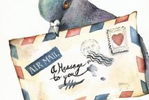 Mail, Mail Art and Postal / by Holly M