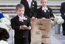 ring bearers / All of the cuteness I can find