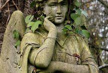 Friedhof Skulpturen /  Graveyards and Cemeteries / by ZILLY Nakat