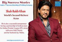 Big Success Stories / India's 1st Success Branding & Profiling Company.