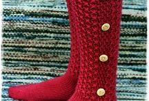 Neulonta - sukat