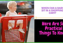 When Can A Baby Sit In A Shopping Cart? Here Are Six Practical Things To Know