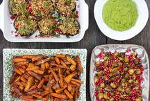 Very veggie holiday foods