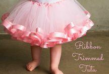 dětské tylové sukně