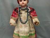 куклы  В  русском  костюме