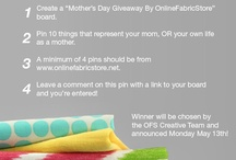 Mother's Day Giveaway / by Wilma Mclean