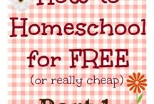 Budget Homeschooling / Budget friendly and/or free homeschooling resources.