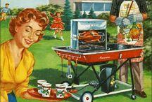 Barbecue/ picnic/ Vintage